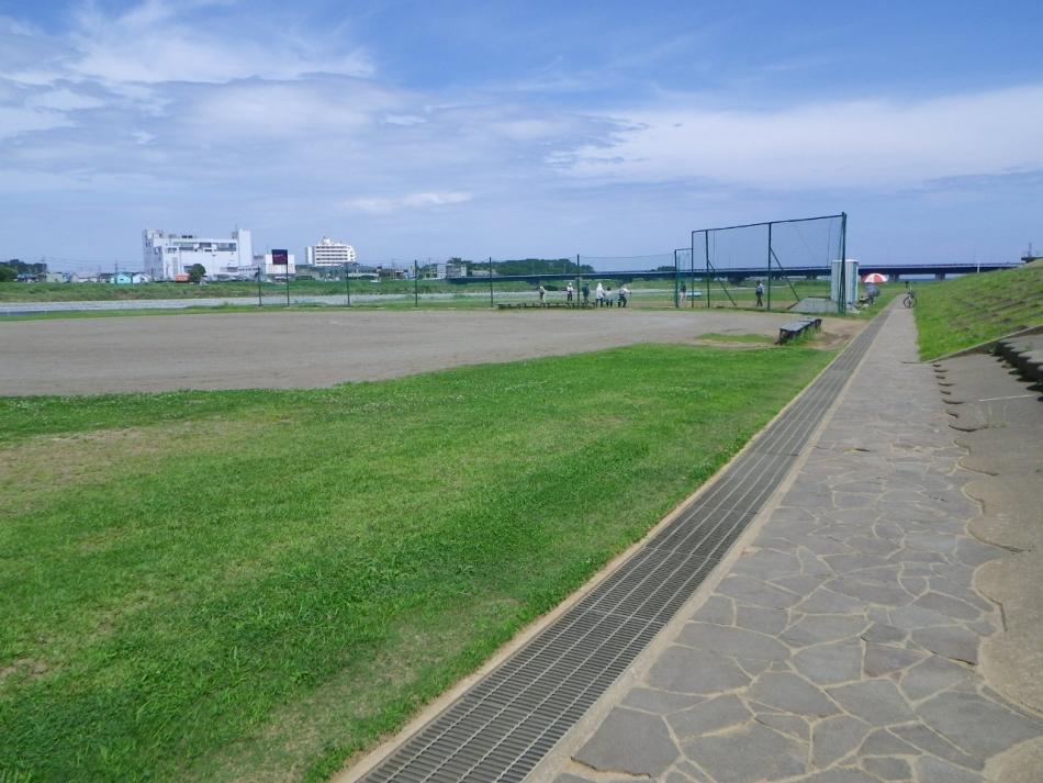 平成24年度台風4号の土砂流出による酒匂川スポーツ広場グランド整備業務
