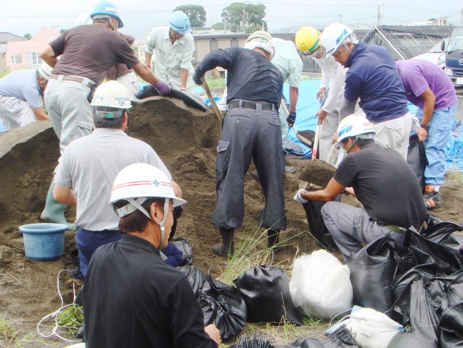 平成28年度 組合独自の災害応急復旧訓練を行いました。