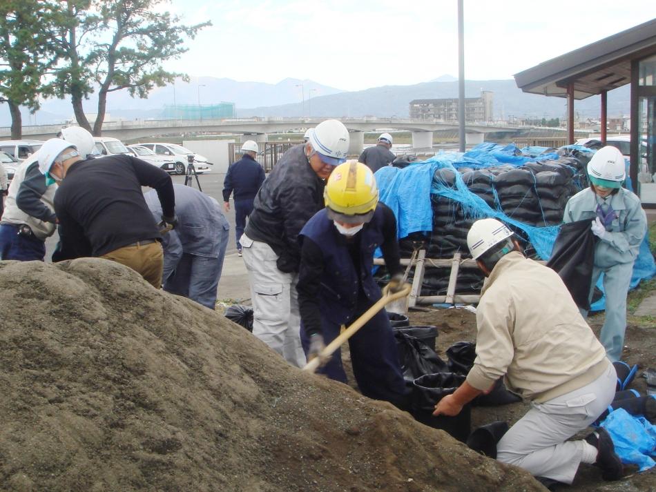 令和元年度 組合独自の災害応急復旧訓練を行いました。