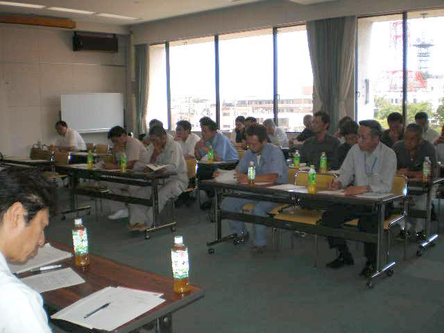 平成22年度 小田原市検査報告研修会を開催しました。