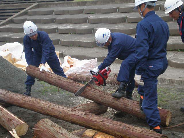 平成22年度 小田原市水防演習に参加しました。
