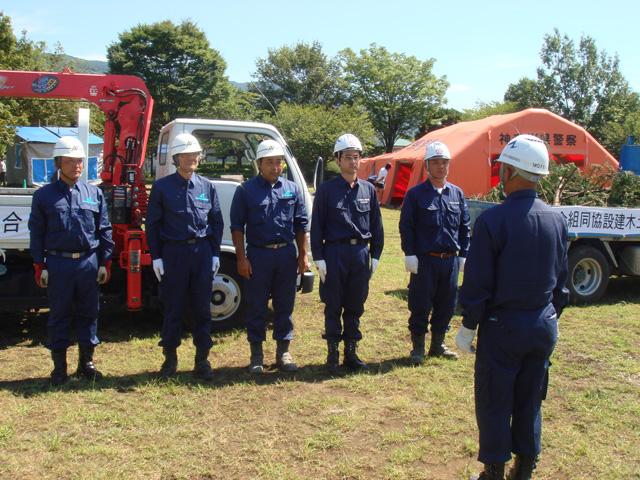平成22年度 小田原市総合防災訓練に参加しました。