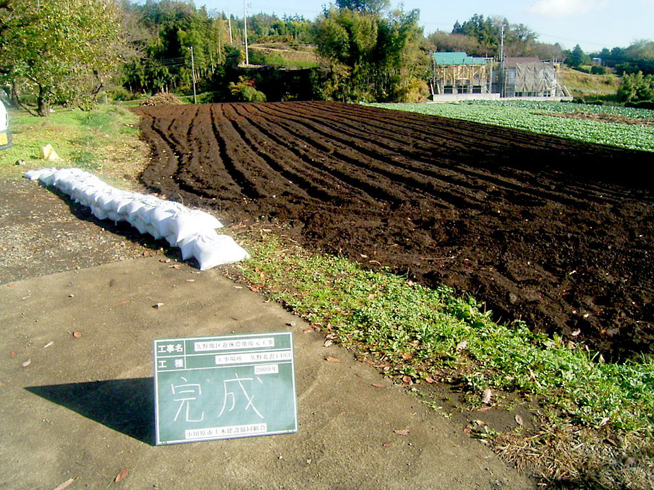 美しい久野 里地里山協議会(一部土木建設協同組合) 植木栽培 再生後